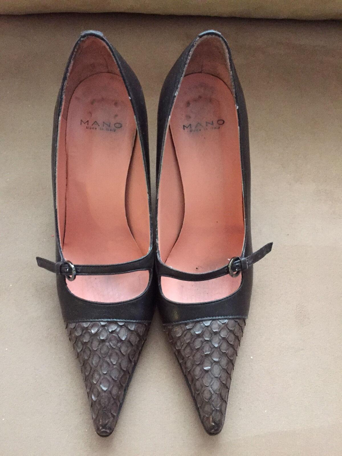 Mano 100% Italian Leather shoes