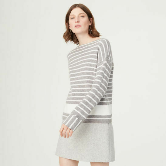 New Club Monaco Laynie Stripe Sweater XS