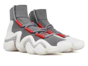check out d94b2 b9563 Image is loading Adidas-consortium-Crazy-8-ADV-Grey-Foam-Powder-