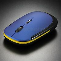 NEW Ultra-Slim 2.4G Mini USB Wireless Optical Mouse Mice for PC Laptop Notebook