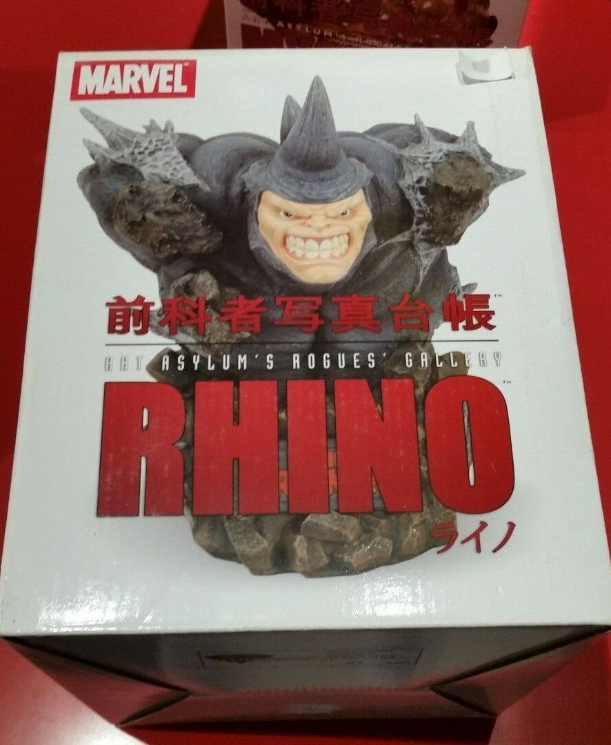 Marvel Art Asylum's Rougues Gallery - RHINO statue Limited Edition  2000