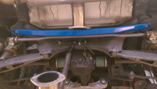 Megan Rear Lower Tie Strut Bar Fits Impreza WRX STi 08-12 MR-SB-SI08RL-R