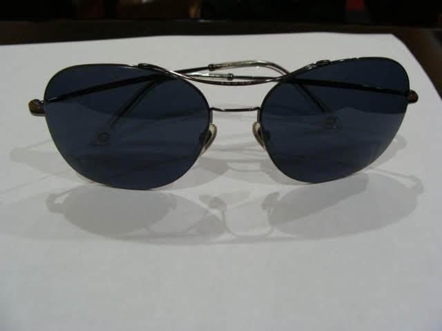92e92d31172 Authentic Gucci GG 4253 Kj14x Dark Ruthenium W  Gray Lens 58-16-140 for  sale online