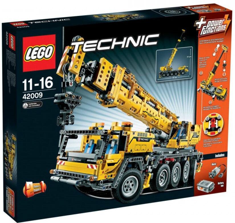 LEGO 42009 Technic Mobiler Schwerlastkran 2606 Teile NEU & OVP