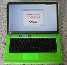 "Sony VAIO VPCCA grün★Intel Core i7 4x2,9Ghz★14""★8GB★USB 3.0★beleucht. Tastatur"