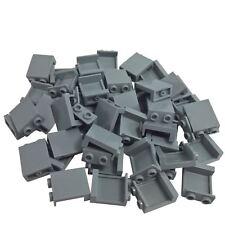 10x LEGO NEW 1x2x2 Light Bluish Grey Panel Side Supports 4593679 Brick 87552