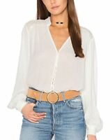 Free People Canyon Rose Button Down Blouse