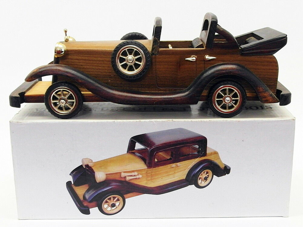 Unknown Brand Appx 32cm Long Model Car G12762 - Wooden Replica Car