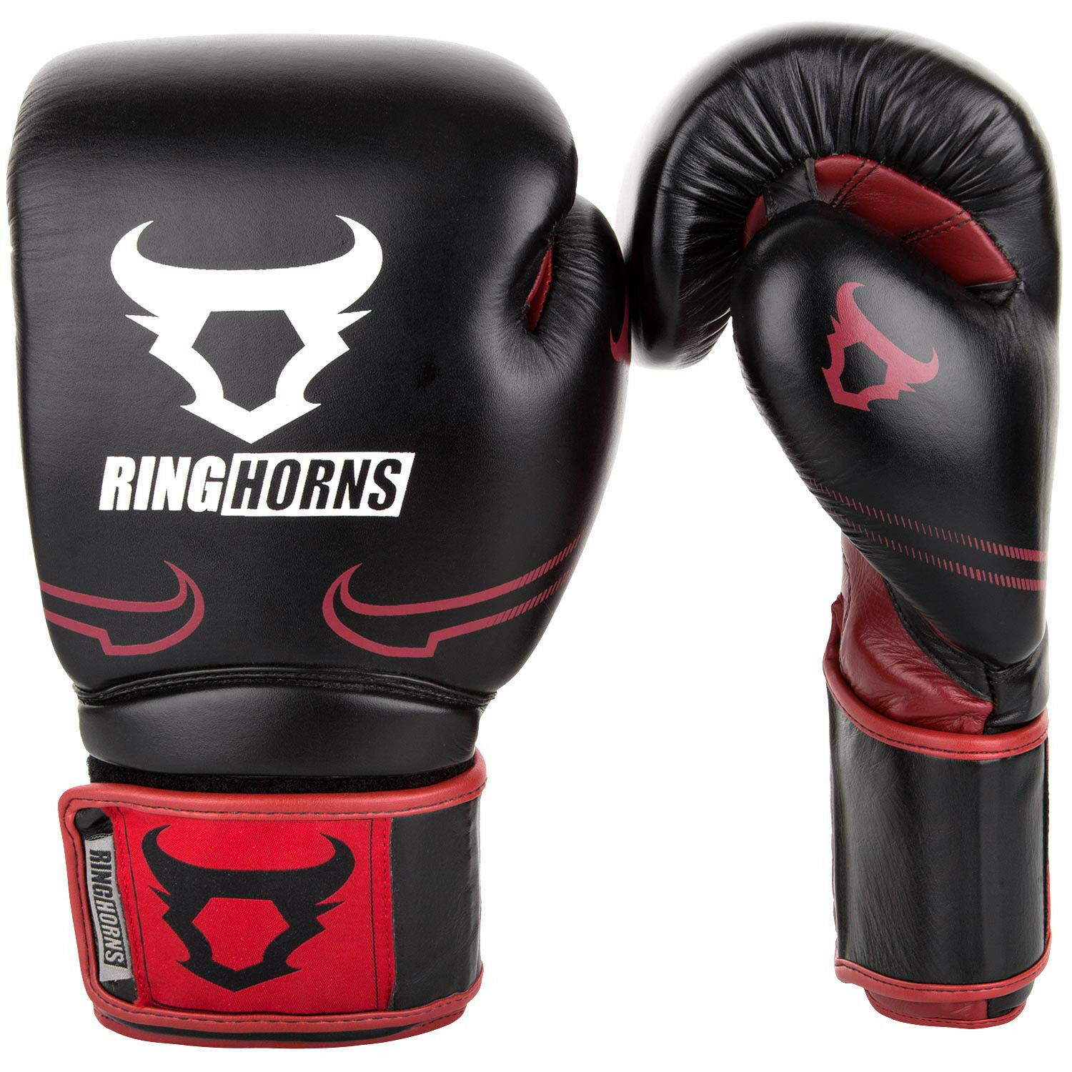 Ringhorns Destroyer Leder Boxing Gloves by Venum Sparring ROT 12 10 12 ROT 14 16 oz 30110f