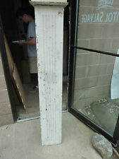 """SQUARE fluted TAPERED victorian POST pier COLUMN 61"""" x 9 x 10"""" square"""