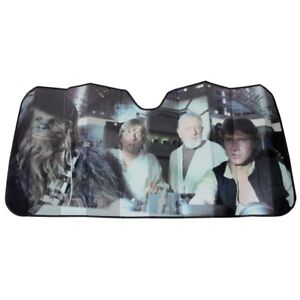 Plasticolor Star Wars Millennium Falcon Han Solo Windshield Sunshade 003700R01