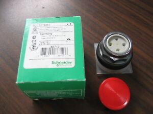 SCHNEIDER ELECTRIC 9001SKR9R05H13 Non-Illuminated Push Button,Plastic,Red