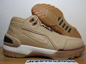 DS Nike Air Zoom Generation AS Qs VACHETTA TAN Sz 10 100% Auth LEBRON 308214 200