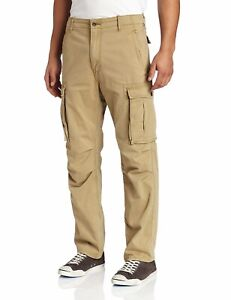 NEW-MENS-LEVIS-RELAXED-FIT-ACE-CARGO-PANTS-BRITISH-KHAKI-124620010