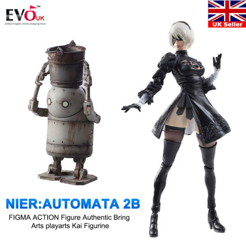 NieR Automata 2b Figma Action Figure Authentic Bring Arts playarts Kai Figurine