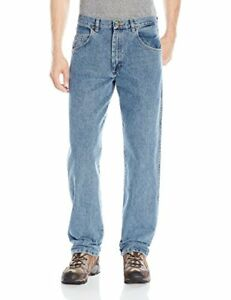 Wrangler Men/'s Rugged Wear Relaxed Fit Jean Choose SZ//color