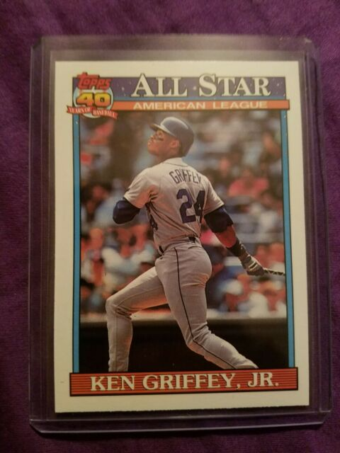 dd568c9cca 1991 Topps Ken Griffey Seattle Mariners #392 Baseball Card for sale ...