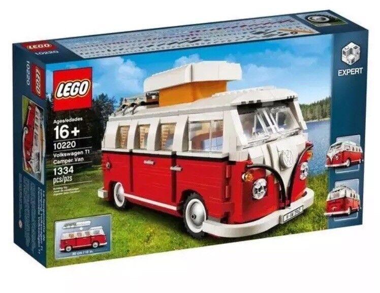 LEGO 10220 Creator Creator Creator Expert Volkswagen T1 Camper Van Set BRAND NEW SEALED 666693