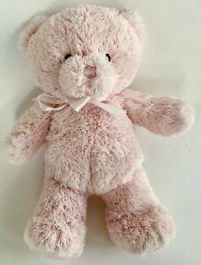 Baby-Gund-My-First-1st-Teddy-Bear-Pink-Plush-Toy-Lovey-Stuffed-Animal-10-034
