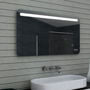 Details zu LED Beleuchtung Badezimmerspiegel Kaltweiß Warmweiß Licht bad  spiegel dimmbar 65