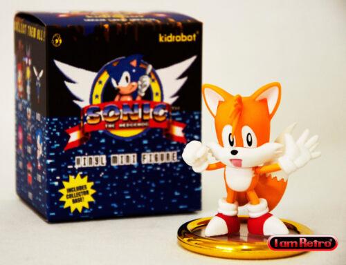 Sonic the HedgeHog SEGA Genesis Vinyl Figure Made by Kidrobot Tails Standing