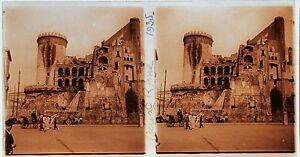 Italie Italia Rome Stéréo Amateur Plaque De Verrepos. 1935 Vintage