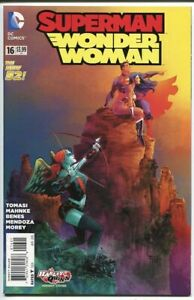 Superman-Wonder-Woman-16-Variant-The-New-52-DC-comic-2014-1st-Print-NM
