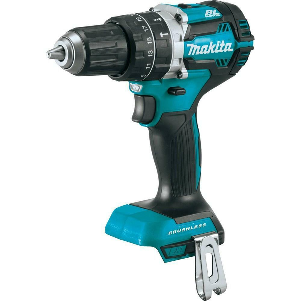 New Makita XPH12Z 18V LXT Lithium-Ion Brushless Cordless 1 2 Hammer Driver-Drill