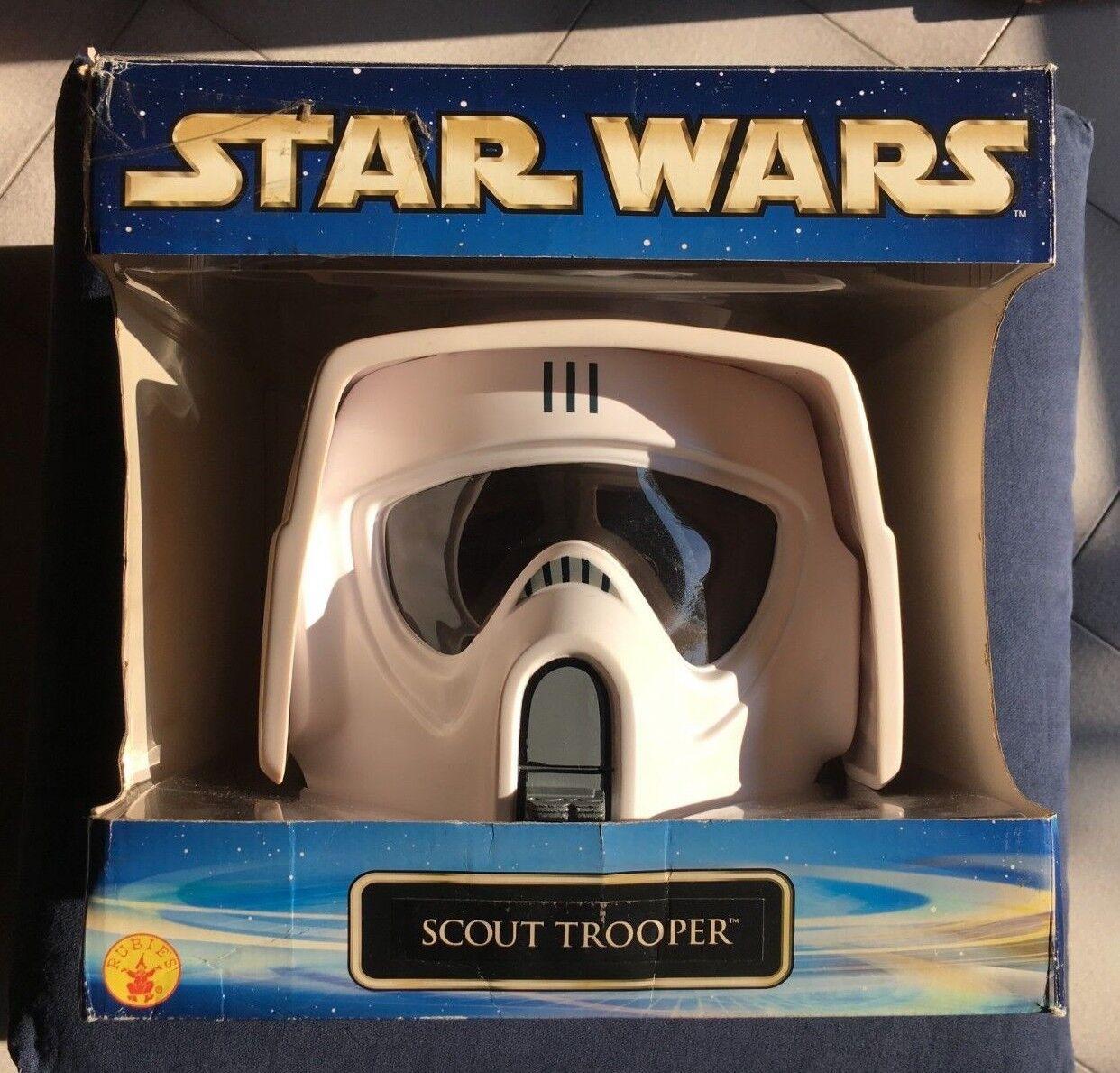 SCOUT TROOPER casco Rubies 2002 Guerre Stellari Star Wars helmet maschera