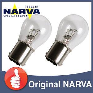 2-X-NARVA-17916-Stopplampe-Signallampe-12V-21W5-21-5W-Autolampe