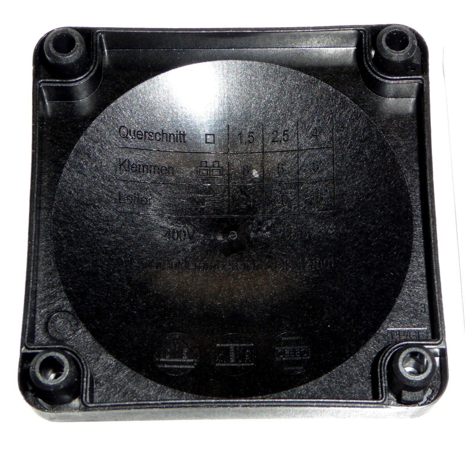 10 Wiska 20 mm glandes 5 x Wiska Combi 308 Boîte De Jonction/'S C//W WAGO bornes 15