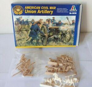 Italeri 6038 American civil fue Unión Artillery estados del norte 1:72 us guerra civil