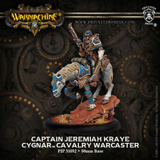 WARMACHINE Cygnar PIP31052 Captain Jeremiah Kraye NEW