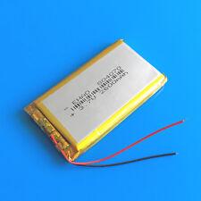 3.7V 2600mAh Li Po Polymer Battery for Camera PC DVD Recorder GPS PAD PSP 804070