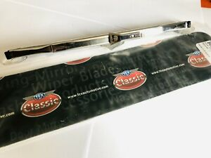 Kit-Car-5-2-Mm-Bayonet-Fitting-9-034-Stainless-Steel-Wiper-Blade-GWB164-Single