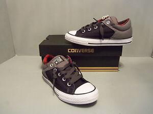 a6ac5232b7f6f8 Converse Kids  CT All Star High Street Low Top Sneaker NIB Black ...