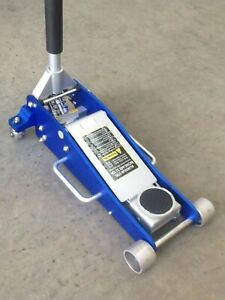 Trolley-jack-2-5T-aluminum-low-profile-alloy-steel-garage-floor-rally-BRAND-NEW