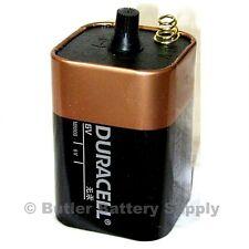 1 x 6 Volt (6V) Duracell CopperTop Lantern Battery (MN908) *Spring Terminals*