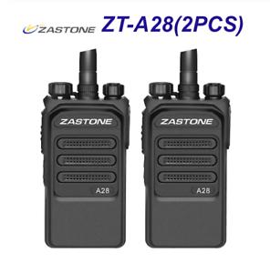 Zastone A28 Portable Transceiver UHF400-480MHz 10KM Long Range Ham Walkie Talkie