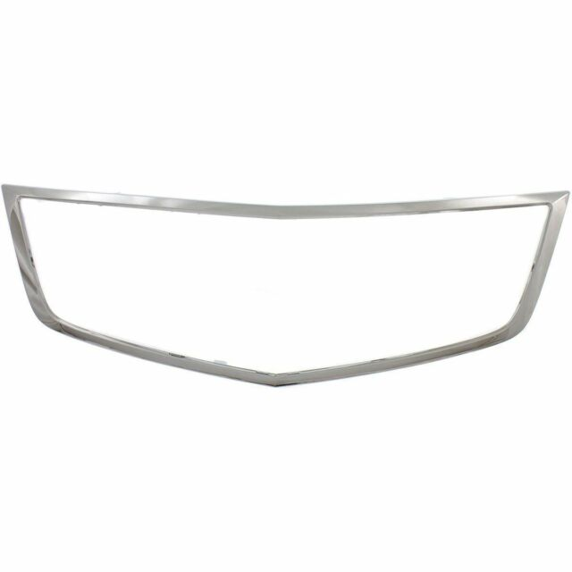 FRT GRILLE SHELL CHROME FOR 2011-2014 ACURA TSX AC1202101