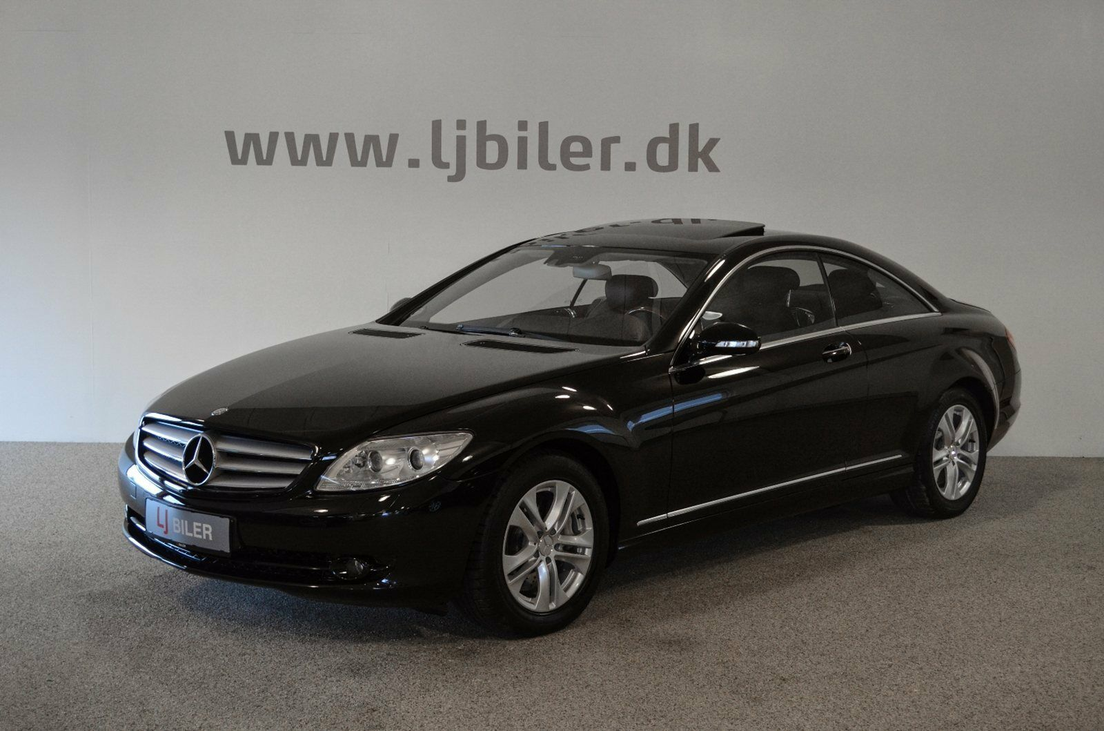 Mercedes CL500 5,5 V8 aut. 2d