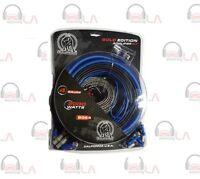 4 Gauge Bullz Audio Car Amplifier Amp Installation Power Wiring Kit Bge4 Car