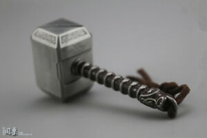 1//6 Thor Hammer 8cm Scene Accessory Props Model Toy Fit Action Figures