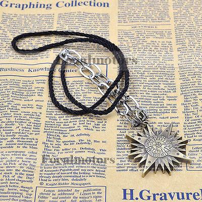 Anime Black Butler Kuroshitsuji Metal Pendant Necklace Fan Cosplay Jewelry