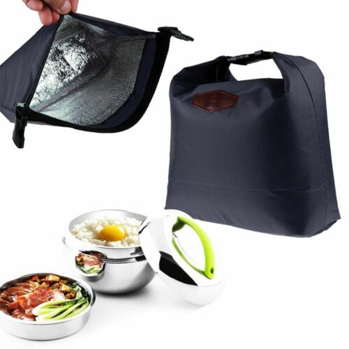 Tote Lunch Box Container Lunch Bag Insulation Bag Insulated Bags Picnic Pouch