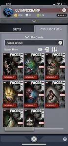 Topps-Marvel-Collect-Faces-Of-Evil-Full-Waves-1-And-2-With-Awards-Offers-Also