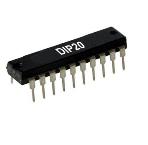8-fach Buffer// Line Driver 74HC244N 74244 IC DIP20 3-State Output 2St.