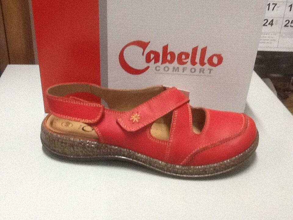 Ladies scarpe Cabello 5502 rosso Dimensione 36 5