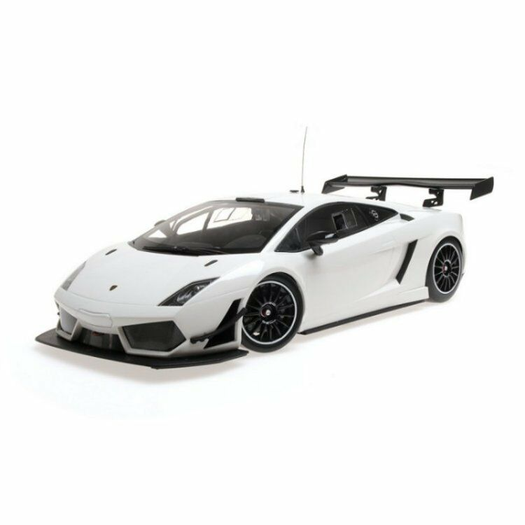 MINICHAMPS Lamborghini Gallardo Lp 600 Street blanc 1 18New Item