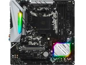 Details about ASRock B450M Steel Legend AM4 AMD Promontory B450 SATA 6Gb/s  USB 3 1 HDMI Micro